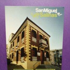 Postales: POSTAL ALICANTE SAN MIGUEL DE SALINAS. Lote 215689618
