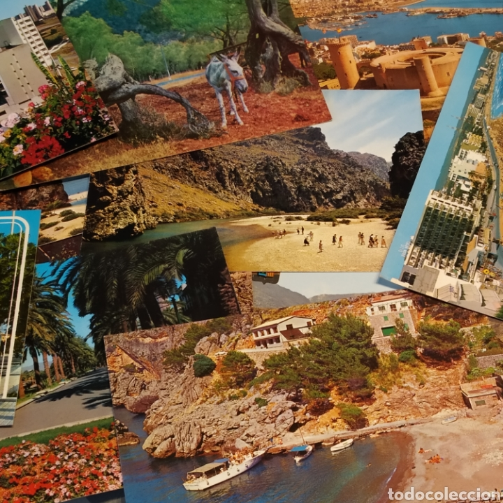 GRAN LOTE DE 15 POSTALES DE MALORCA (Postales - España - Baleares Moderna (desde 1.940))