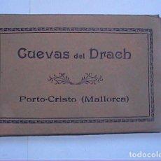Postales: LOTE DE 7 POSTALES ANTIGUAS. CUEVAS DEL DRACH. PORTO CRISTO. MALLORCA.. Lote 216868426