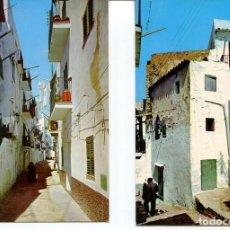 Postales: LOTE 2 POSTALES-IBIZA-CALLES TÍPICAS-- AÑOS 1960-70. Lote 217588418