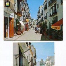 Postales: LOTE 2 POSTALES-IBIZA-CALLES Y TIENDAS TÍPICAS-- AÑOS 1960-70. Lote 217588578