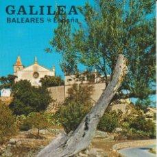 Postales: (2889) GALILEA. MALLORCA. .IGLESIA .. SIN CIRCULAR. Lote 218047677