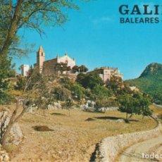Postales: (2890) GALILEA. MALLORCA. .IGLESIA .. SIN CIRCULAR. Lote 218047787