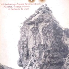 Postales: SANTUARIO DE NTRA. SRA. DE LLUCH. 43 PAISAJE PRÓXIMO AL SANTUARIO. THOMAS. NUEVA. BLANCO/NEGRO. VER. Lote 218062918