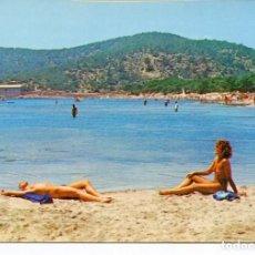 Postales: IBIZA-PLAYA SES SALINAS- AÑO 1979. Lote 218690807