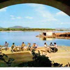 Postales: IBIZA-PLAYA -SANTA EULALIA- AÑO 1964. Lote 218691413
