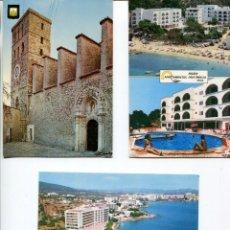 Postales: LOTE-IBIZA 8 POSTALES AÑOS 1960-70. Lote 218692551