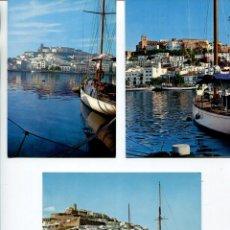 Postales: LOTE-IBIZA 10 POSTALES AÑOS 1960-70. Lote 218692761