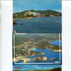 Postales: LOTE-IBIZA 10 POSTALES AÑOS 1960-70. Lote 218692865