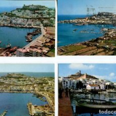 Postales: LOTE-IBIZA 7 POSTALES AÑOS 1960-70. Lote 218693306