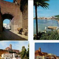 Postales: LOTE-IBIZA 10 POSTALES AÑOS 1960-70. Lote 218693371