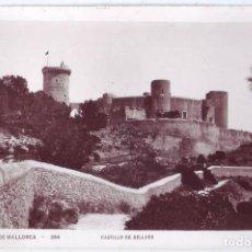 Postales: PALMA DE MALLORCA: CASTILLO DE BELLVER. NO CONSTA EDITOR. NO CIRCULADA (AÑOS 30). Lote 218997468