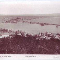 Postales: PALMA DE MALLORCA: VISTA PANORÁMICA. NO CONSTA EDITOR. NO CIRCULADA (AÑOS 30). Lote 218998248