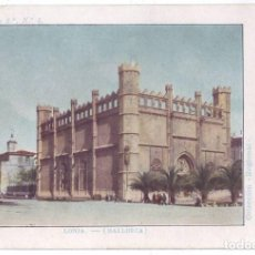 Postales: PALMA DE MALLORCA: LONJA. COLECCIÓN REGIONAL. SIN DIVIDIR. NO CIRCULADA (ANTERIOR A 1905). Lote 218999385