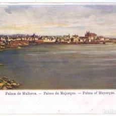 Postales: PALMA DE MALLORCA. COLECCIÓN REGIONAL. SIN DIVIDIR. NO CIRCULADA (ANTERIOR A 1905). Lote 218999870