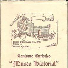 Postales: 8 TARJETAS POSTALES ESPAÑA ,EN ACORDEÓN Y ESTUCHADAS DEL MUSEO HISTORIAL DE BINISSALEM (MALLORCA). Lote 219879105