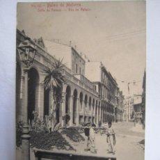 Postales: 91- CALLE DE PALACIO - PALMA ANTIGUA - POSTAL Nº 53, SIN CIRCULAR. Lote 219914372