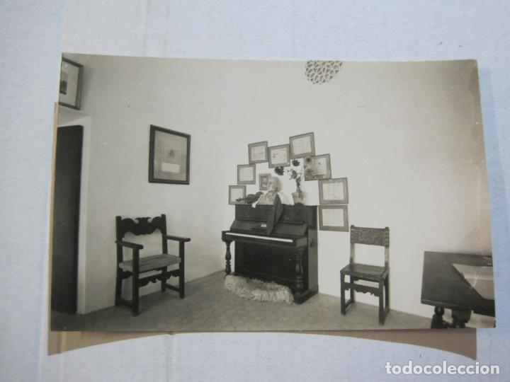 Postales: MALLORCA-VALLDEMOSA-CELDA CHOPIN Y GEORGE SAND-FOTO PLASENCIA-POSTAL ANTIGUA-(74.746) - Foto 2 - 221138071