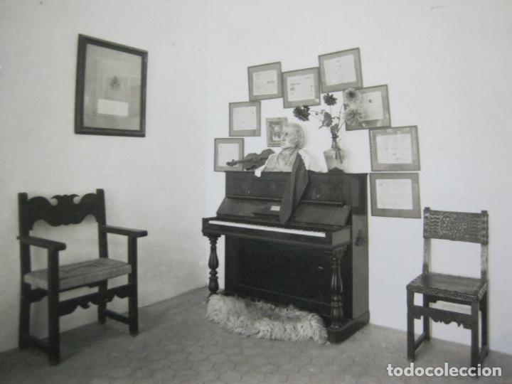 MALLORCA-VALLDEMOSA-CELDA CHOPIN Y GEORGE SAND-FOTO PLASENCIA-POSTAL ANTIGUA-(74.746) (Postales - España - Baleares Antigua (hasta 1939))