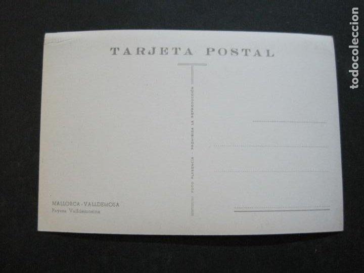 Postales: MALLORCA-VALLDEMOSA-PAYESA-FOTO PLASENCIA-POSTAL ANTIGUA-(74.747) - Foto 3 - 221138260