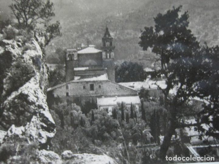 MALLORCA-VALLDEMOSA-ALREDEDORES DE LA CARTUJA-FOTOGRAFICA-POSTAL ANTIGUA-(74.748) (Postales - España - Baleares Antigua (hasta 1939))