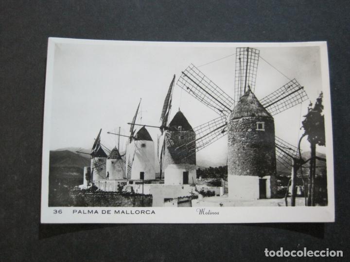 Postales: PALMA DE MALLORCA-MOLINOS-FOTOGRAFICA-POSTAL ANTIGUA-(74.749) - Foto 2 - 221138743
