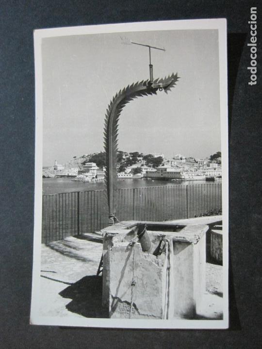 MALLORCA-SOLLER-EL PUERTO-FOTO BALEAR-FOTOGRAFICA-POSTAL ANTIGUA-(74.751) (Postales - España - Baleares Antigua (hasta 1939))