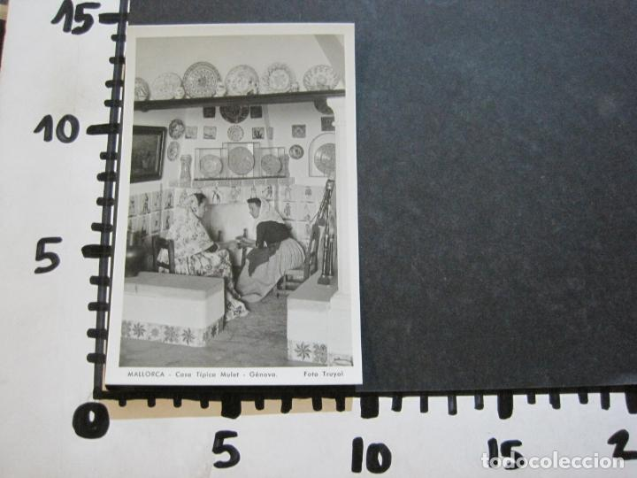 Postales: MALLORCA-CASA TIPICA MULET-GENOVA-FOTO TRUYOL-FOTOGRAFICA-POSTAL ANTIGUA-(74.752) - Foto 4 - 221139528