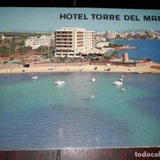 Cartes Postales: Nº 39293 POSTAL HOTEL TORRE DEL MAR IBIZA. Lote 221333022