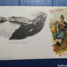 Postales: RECUERDO DE MALLORCA, MIRAMAR, J. TRUCOS 1900. Lote 221336832