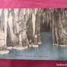 Postales: TARJETA POSTAL. Nº 93. MALLORCA. CUEVAS DEL DRACH. LAGO MARTEL. Lote 221729782