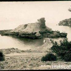 Postales: POSTAL FOTO ALCUDIA EL MALPAS ED. ROSSELLO INCA MALLORCA 1932. Lote 221829913