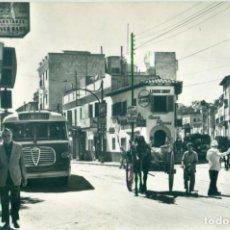 Postales: PALMA MALLORCA. EL TERRENO. PLAZA GOMILA. CIRCULADA EN 1961. MUY RARA.. Lote 221966240