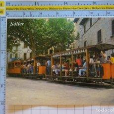 Postales: POSTAL DE MALLORCA. AÑO 1982. SOLLER TREN TRANVÍA TURÍSTICO. 2628 PALMA. 1268. Lote 222157038
