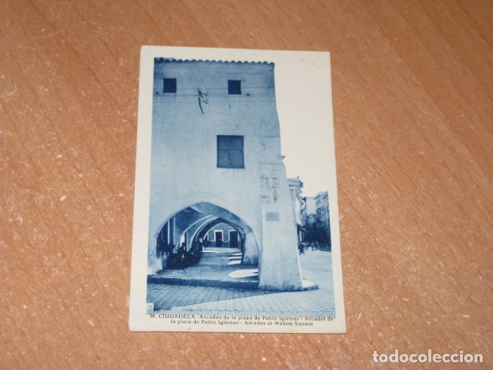 POSTAL DE CIUDADELA (Postales - España - Baleares Antigua (hasta 1939))