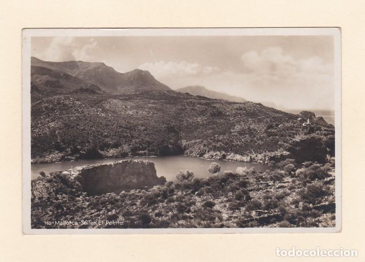 POSTAL SOLLER. EL PUERTO. MALLORCA (Postales - España - Baleares Moderna (desde 1.940))