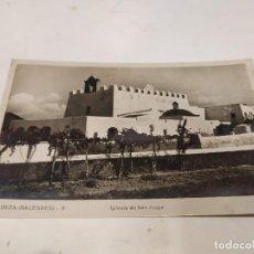 Postales: IBIZA - POSTAL IBIZA - IGLESIA DE SAN JORGE. Lote 222811780