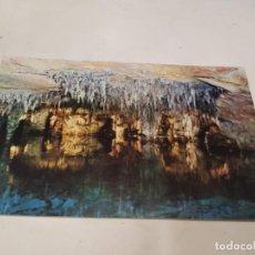Postales: MALLORCA - POSTAL CUEVAS DEL DRACH - LAGO MARTEL - VISTA PARCIAL. Lote 222811901