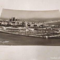 Postales: MALLORCA - POSTAL PALMA - LA CATEDRAL Y CLUB NÁUTICO. Lote 222812793