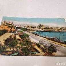 Postales: MALLORCA - POSTAL PALMA - VISTA DESDE PASEO MARÍTIMO. Lote 222813900