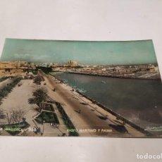 Postales: MALLORCA - POSTAL PALMA - PASEO MARÍTIMO Y PALMA. Lote 222814267