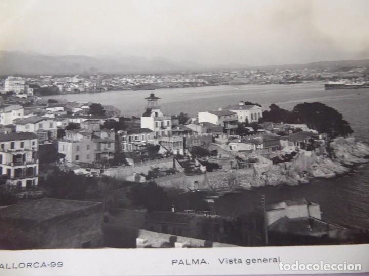 Postales: P-11695. PALMA DE MALLORCA. VISTA GENERAL. N.C.P. Nº 99. NO CIRCULADA. AÑOS 50.CIRCULADA. FOTO GARCI - Foto 2 - 222932002