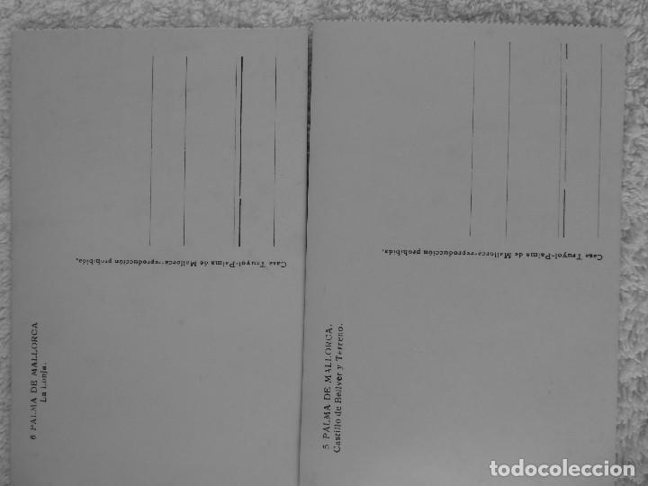 Postales: P-11752. PALMA DE MALLORCA.2 POSTALES: LA LONJA/CASTILLO DE BELLVER. CASA TRUYOL. Nº 5, Y 6. - Foto 3 - 223418603
