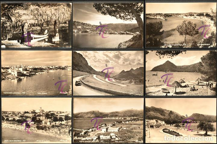 LOTE 12 ANTIGUAS POSTALES MALLORCA BALEARES B/N SIN CIRCULAR VER TODAS EN FOTOGRAFIAS (Postales - España - Baleares Moderna (desde 1.940))
