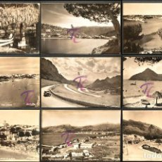 Postales: LOTE 12 ANTIGUAS POSTALES MALLORCA BALEARES B/N SIN CIRCULAR VER TODAS EN FOTOGRAFIAS. Lote 223782548