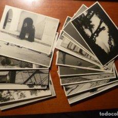 Postales: IBIZA EIVISSA LOTE 22 POSTALES FOTOGRAFICAS ORIGINALES ANTIGUAS 1949. Lote 224019555