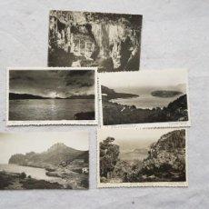 Postales: LOTE 5 POSTALES MANACOR POLLENSA VALLEMOSA FORMENTOR ANTONIO VICH MALLORCA. Lote 224069105