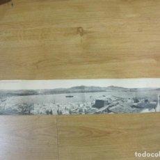 Postales: IBIZA-VISTA DESDE EL MIRADOR DE LA PLAZA CATEDRAL-POSTAL CUADRUPLE ANTIGUA-THOMAS-VER FOTOS-(K-1014). Lote 224239525