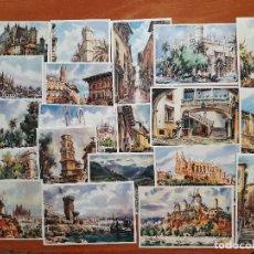 Postales: VEINTE (20) POSTALES COLOREADAS DE MALLORCA. Lote 224272215
