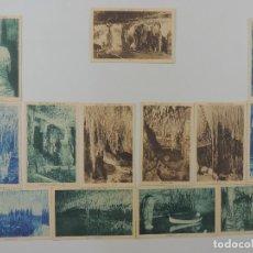 Postales: COLECCION LOTE DE 13 POSTALES CUEVAS DEL DRACH-MALLORCA. Lote 224480941